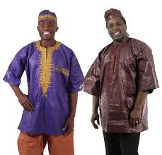 Mens Brocade Dashiki