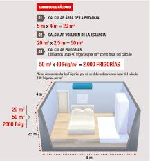 Cómo calcular las frigorías para tu aire acondicionado