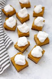 Pumpkin Pie With Gingersnap Crust Gluten Free by Gluten Free Pumpkin Pie Bars With Ginger Cookie Crust With