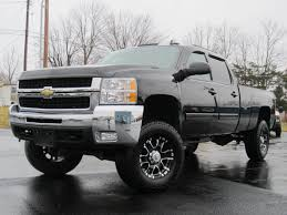 100 Badass Mud Trucks 2008 Chevy 2500HD LTZ 4X4 LIFTED LONGBED DURAMAX LOADED BAD ASS