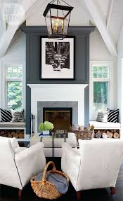 interior rustic contemporary cottage grey living rooms