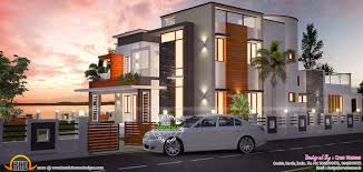 The Waterfront House Designs by Waterfront House Design Kerala Home Design And Floor Plans
