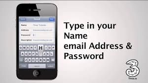 How to setup email on iphone 4S