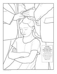 Holy Ghost Coloring Page
