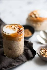 Pumpkin Layer Cheesecake by Pumpkin Cheesecake Overnight Oats In A Jar With Salt And Wit