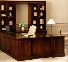 Ameriwood L Shaped Desk With Hutch by Sauder Home Office Executive Desk With Return And Pencil Drawer