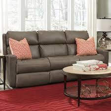 flexsteel catalina contemporary casual power reclining sofa with
