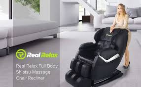 Beauty Health Massage Chairs Direct by Amazon Com Real Relax Massage Chair Recliner Full Body Shiatsu
