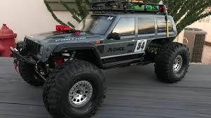 100 Axial Rc Trucks Project Jeep Cherokee Bomber SCX10 II Body Radio Control