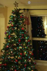 Flocked Christmas Tree Walmart by Christmas Tree At Walmart Christmas Lights Decoration