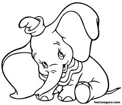 Kids Coloring Pages Simple Disney To Print Out