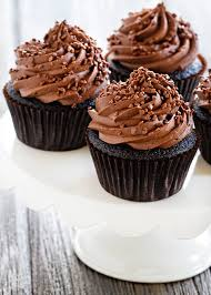 Double Chocolate Cupcakes are loaded with chocolate flavor Add chocolate sprinkles for a chocolate trifecta 855