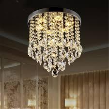 Crystal Ceiling Lights Bedroom Dining Room Crystal Close