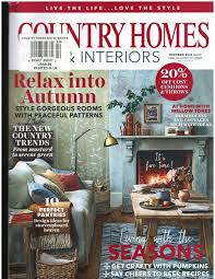 100 Home Interiors Magazine Country S October 2018 Various