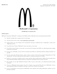 Mcdonalds Cook Job Description Adorable Resume For Cashier At Mcdonald S About Of Accurate Accordingly Duties