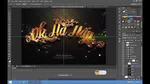 Hướng Dẫn Dùng Graphicriver Modern 3D Text Effects By Thàh Designer