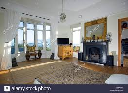 Interior Of A House In Church Park Mumbles Near Swansea South Wales With Sea