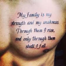 Family Tattoos For Men