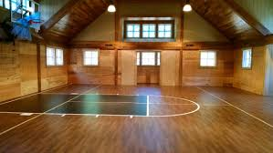 Basketball Court Resilient Athletic Flooring