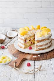 ananas kokos torte