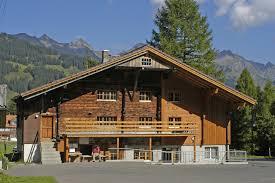 100 Log Cabins Switzerland Haris Chalet 4 Big One Adelboden Bern Group Accommodation