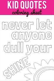 Dull Your Shine Printable