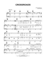 Don Mclean Empty Chairs Tab by Download Crossroads Sheet Music By Don Mclean Sheet Music Plus