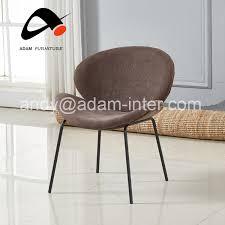 großhandel moderne braun samt metall esszimmer stuhl mit schwarz pulver beschichtung beine buy stühle esszimmer moderne stühle metall esszimmer