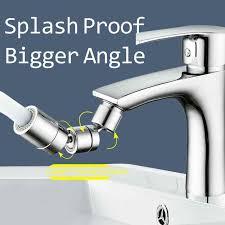 360 grad 720 grad anti splash universal dreh waschbecken verlängerung wasserhahn badezimmer halterung zubehör bad ausrüstung