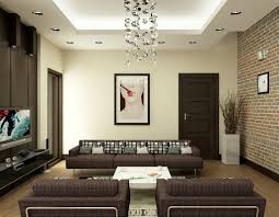 Living Room Decorating Brown Sofa by Living Room Wall Decor Brown Sofa And Cushion White Table Tv With