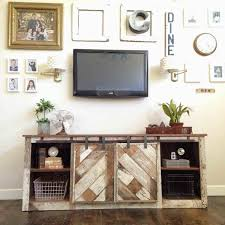 Stand For Sale A Custom Made Barn Wood Media Console Center Cool S Amazing Wenge Cabinets