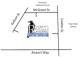 Directions & Site Map — Raven Landing This is Home