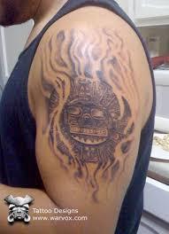 Inti Sun God Tattoo AZTEC TATTOOS Aztec Mayan Inca Designs Instant Download