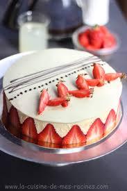 dessert aux fraises facile recette fraisier gateau facile la cuisine de mes racines