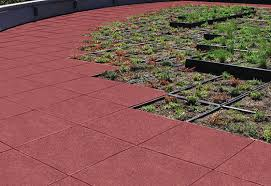 softile architectural paver rubber decking safety concepts