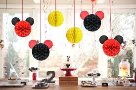 20 Mickey Mouse Birthday Party Ideas - How To Throw A Mickey ... Minnie Mouse Room Diy Decor Hlights Along The Way Amazoncom Disneys Mickey First Birthday Highchair High Chair Banner Modern Decoration How To Make A With Free Img_3670 Harlans First Birthday In 2019 Mouse Inspired Party Supplies Sweet Pea Parties Table Balloon Arch Beautiful Decor Piece For Parties Decorating Kit Baby 1st Disney