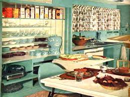 1950s Decor Retro Aesthetic 31 Kitchen Decorating Ideas Vintage Items And