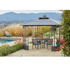 Orchard Supply Outdoor Furniture Covers by Orchard Madison Place Gazebo Gazebos Outdoor Living Outdoor