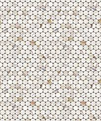 shell tile circle pattern vinyl contact paper self