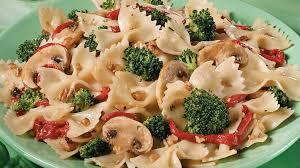 salade de pâtes aux légumes et aux noix recettes iga pique