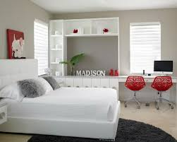48 Samples For Black White And Red Bedroom Decorating Ideas 19