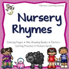 Cap This FREE Nursery Rhymes Sampler Pack From Mamas Learning Corner Includes Coloring Pages