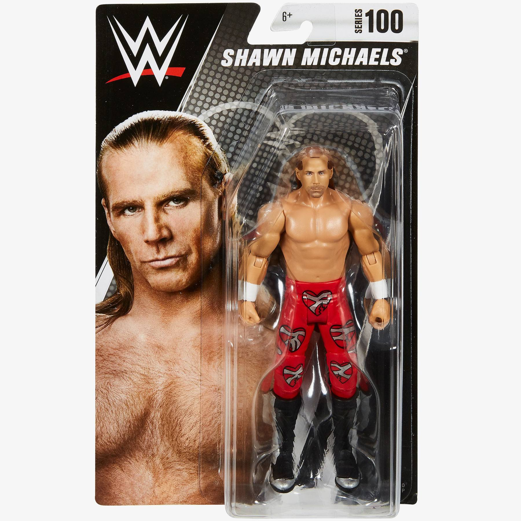 WWE Basic Series #100 Action Figure - Shawn Michaels