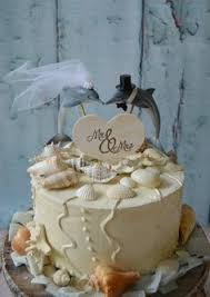 Nautical Whales in Love wedding cake topper for your beach