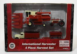 99 Vintage International Harvester Truck Parts 132 Harvest Set With Combine