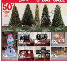 Kmart Christmas Trees Jaclyn Smith by Kmart Black Friday Ad