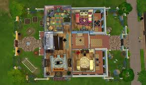 Sims 3 Floor Plans Download by Floor Plans For The Sims 4 Homes Zone
