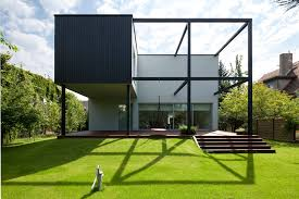 100 Cubic House Black Cube KameleonLab ArchDaily