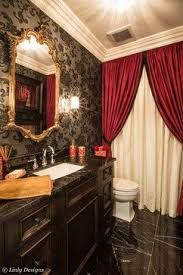 Red And Black Living Room Decorating Ideas by Best 25 Red Bathrooms Ideas On Pinterest Red Bathroom