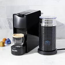 Nespresso By Breville Essenza Mini Black Espresso Maker Bundle